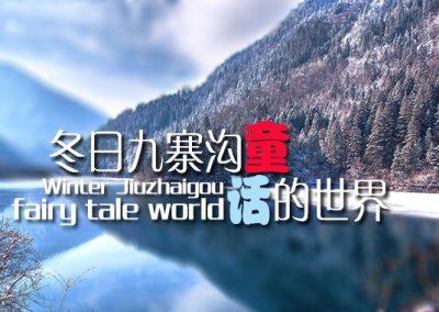 主要看气质!冬天九寨沟才是真正的童话世界