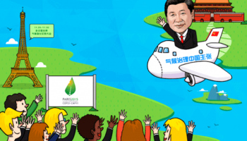 """外界评价""""中国承诺"""":体现全球气候治理中的大国担当"""