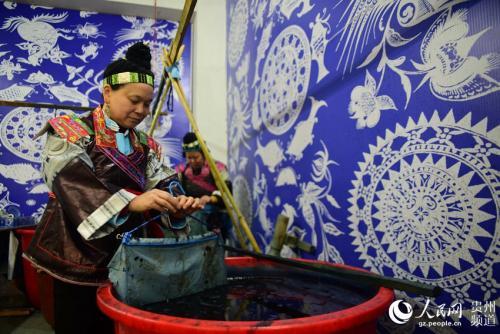 贵州非物质文化遗产——苗族蜡染技艺