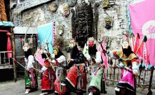 贵州非物质文化遗产——安顺地戏