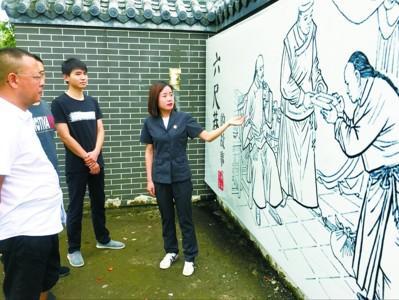 """安徽桐城传承式复建让""""六尺巷文化""""活起来"""