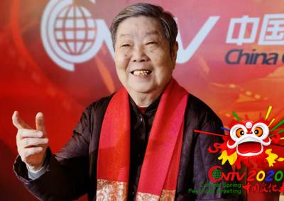 著名京剧表演艺术家李鸣岩:祝我们的祖国国富民强,大家喜气扬扬!