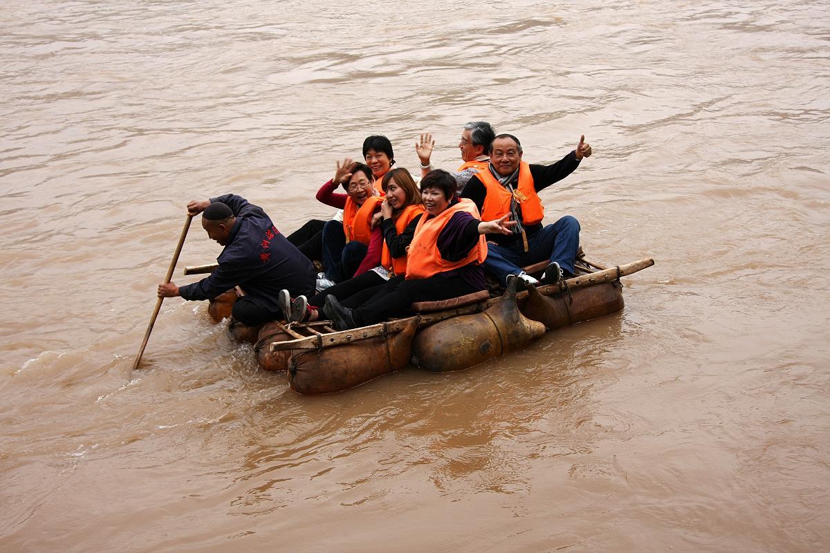 非遗兰州:兰州羊皮筏子