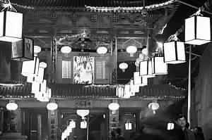 """兰州非物质文化遗产""""河口纱灯"""":再现河口古镇繁华"""