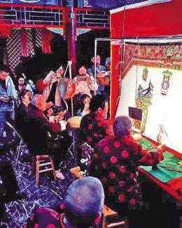 """让光影艺术获得重生–探访国家级非物质文化遗产代表性项目""""华县皮影戏"""""""