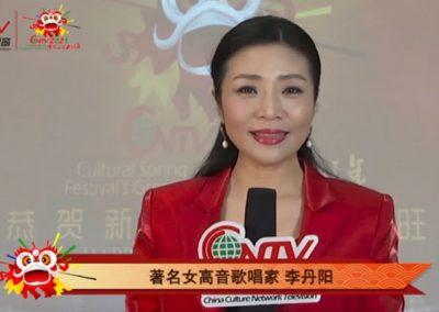 著名女高音歌唱家李丹阳:祝大家身体健康,万事如意