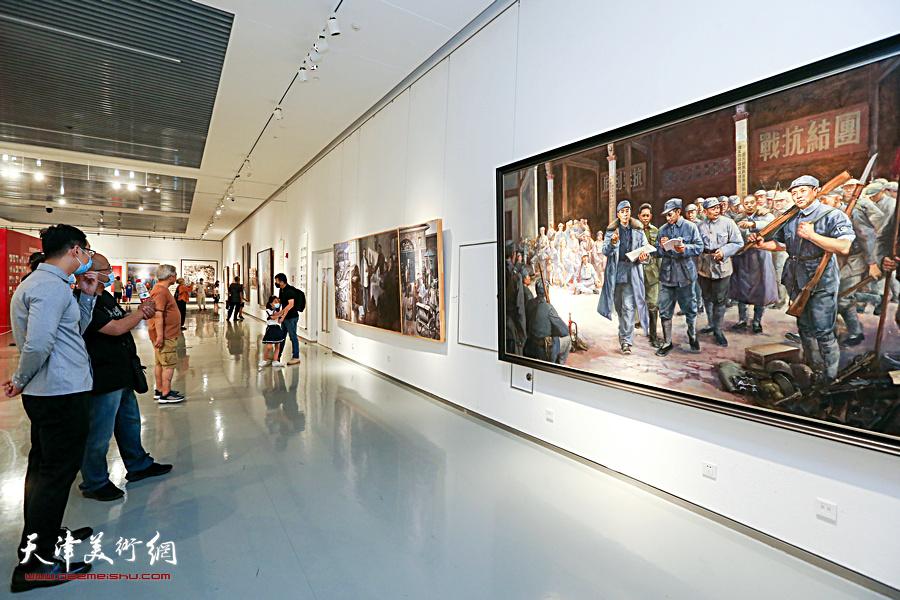 天津文艺界庆祝建党百年精品创作展开展